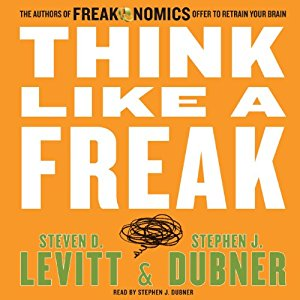 Think Like A Freak Audiobook Cover