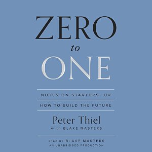 Zero to One Audiobook Cover