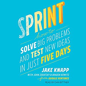 Sprint Audiobook Cover
