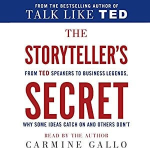 Storyteller's Secret Audiobook Cover