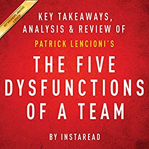 The Five Dysfunctions of a Team Hörbuch