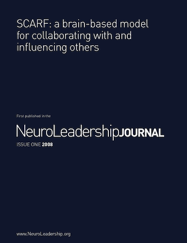 SCARF: a brain based model for collaborating with and influencing others